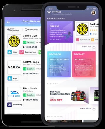 fitpass app screen Image